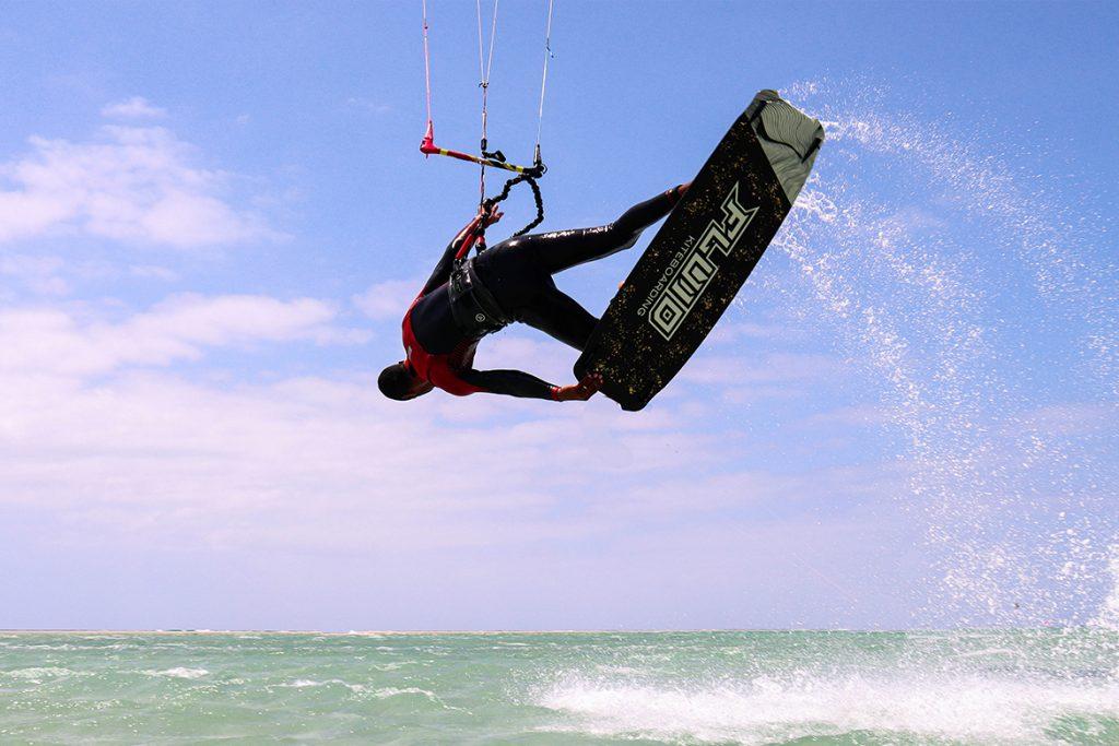 gilion goveia fluid kiteboarding interview