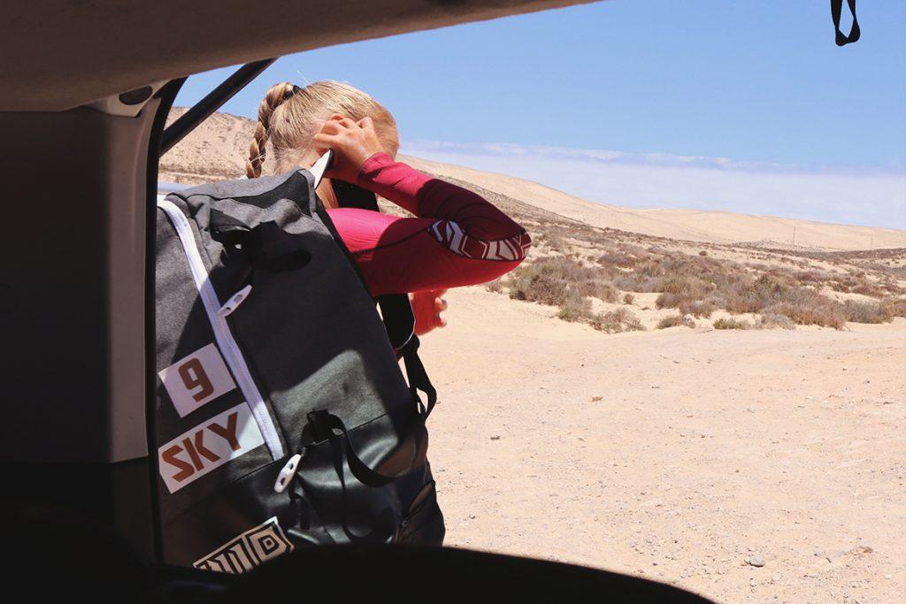 Fluid kiteboarding new bag by gilion goveia