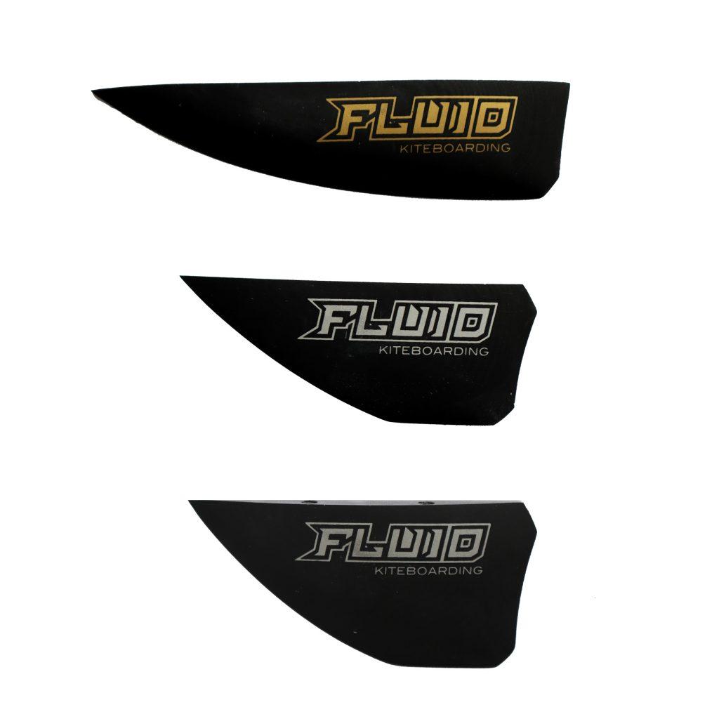 Fluid kiteboarding G10 - twintip - kiteboarding - fins